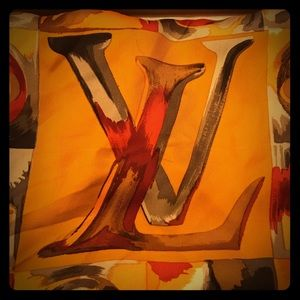 Louis Vuitton Silk Square Scarf